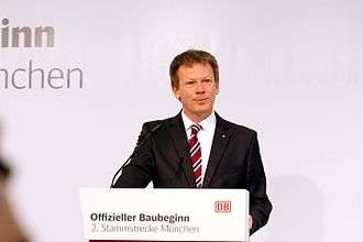 Deutsche Bahn - Richard Lutz, CEO of the DB Group