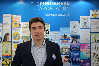 The Publishers Association - Richard Mollet in 2015