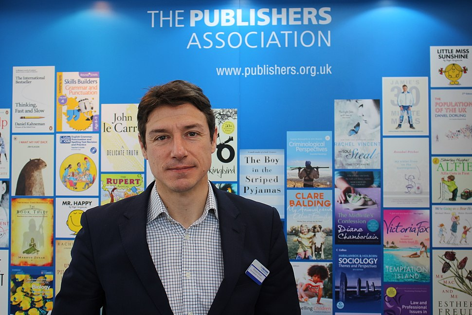 Richard Mollet, chief executive of The Publishers Association - London Book Fair 2015 (17140027446)