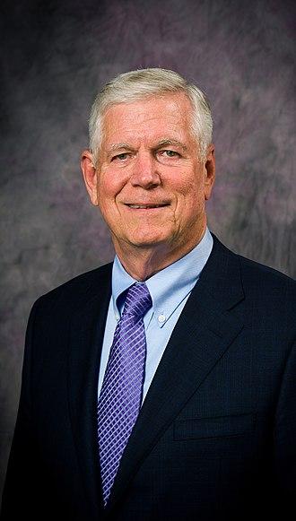 Richard Myers - Myers' official portrait as President of Kansas State University, 2014