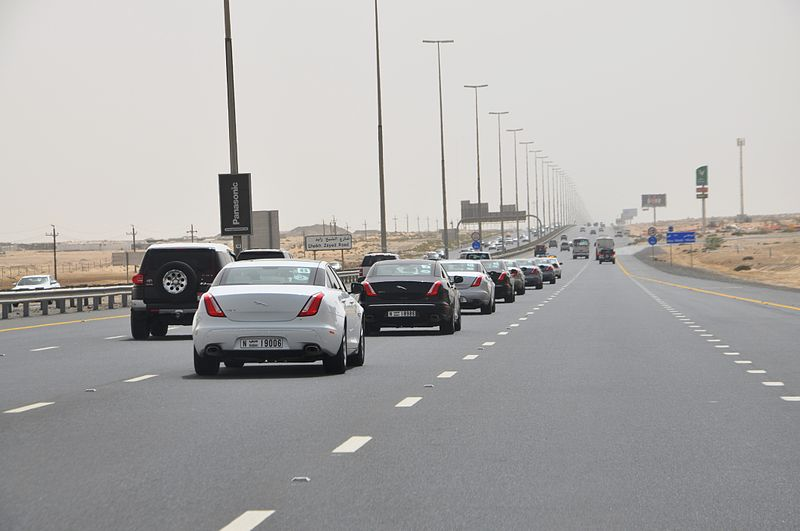 File:Ride and Drive Event with 15 Jaguar XJ's (7293225074).jpg