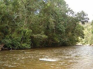 Itamarandiba River river in Minas Gerais, Brazil