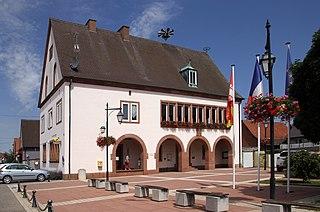 Rittershoffen Commune in Grand Est, France