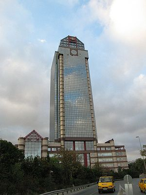 Ritz Carlton Hotel in Şişli district of Istanb...