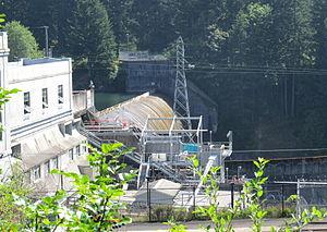 Nils F. Ambursen - River Mill Dam, Estacada, Oregon, constructed in 1911