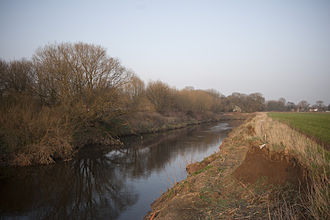Flixton, Greater Manchester - The River Mersey forms Flixton's southern border