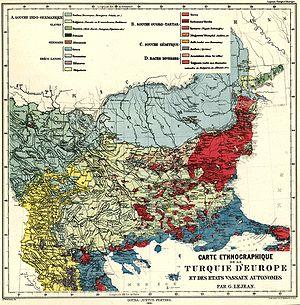 Ottoman Kosovo - Image: Riz Map 19