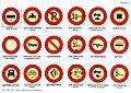 Road signs Romania 1950-1961 - Prohibitory.jpg