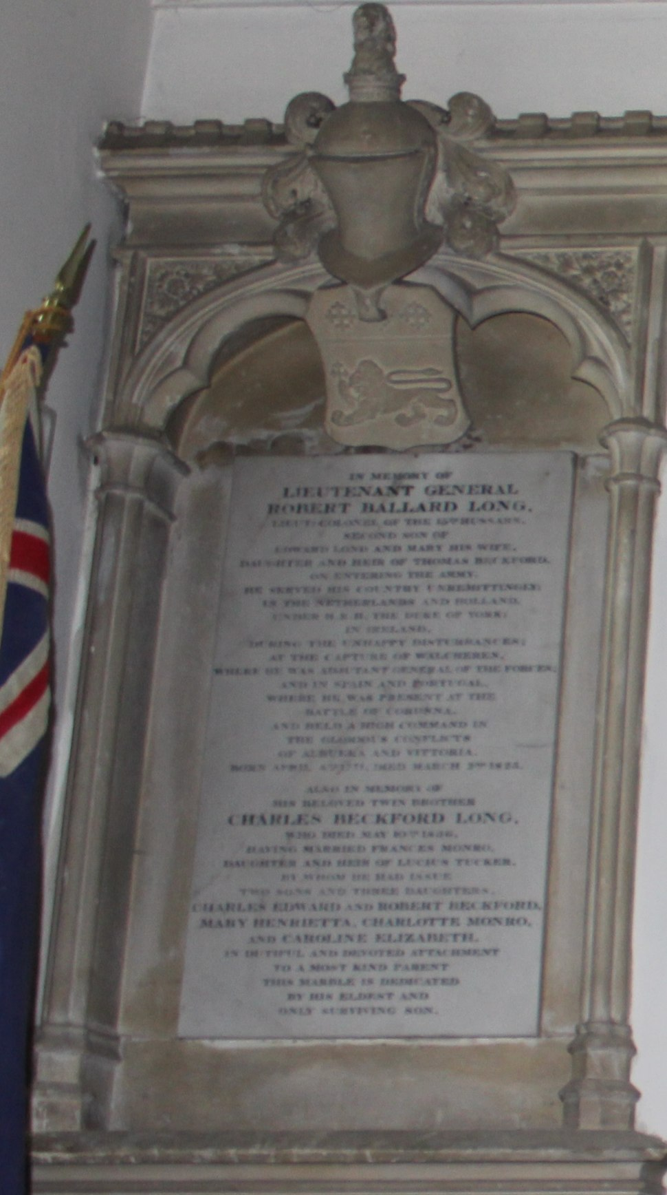 Robert Ballard Long memorial