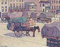 Robert Polhill Bevan - Hay Carts, Cumberland Market - Google Art Project.jpg