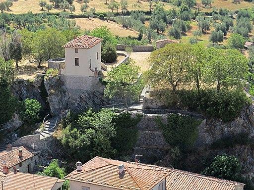 Roccalbegna, veduta Cassero