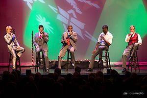Rockapella - Rockapella performing in Clearwater, Florida on December 20, 2013.