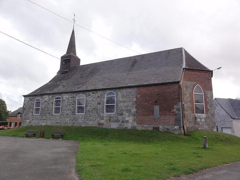 Rocquigny (Aisne) église (sud)