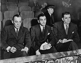 1943: Rodgers (links) und Hammerstein (rechts)