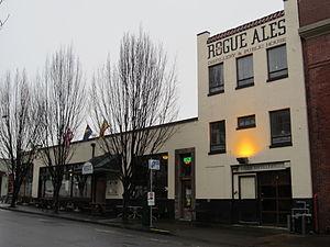 Rogue Ales - Image: Rogue Ales in NW Portland, Oregon in 2012