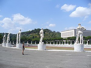 Roma - Stadio Olimpico - Stadio dei Marmi - Andrea - panoramio