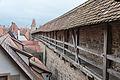 Rothenburg ob der Tauber, Stadtbefestigung, Spitalgasse 41 bis 55, Stadtmauer-20151230-002.jpg