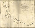 Route of the Land Arctic Expedition under the Command of Captn. J Franklin, R. N. from Great Slave Lake to Great Bear Lake River (1825).jpg