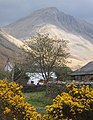 Row Head (house) and Great Gable, Wasdale Head - geograph.org.uk - 785376.jpg