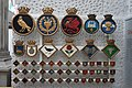 Royal Navy badges at the National Maritime Museum.jpg