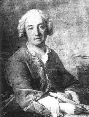 Zaïde, reine de Grenade - Royer composing his opera Zaïde (by Jean-Marc Nattier)