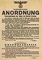 Rozporządzenie o znamionowaniu Żydów w okręgu krakowskim 18 grudnia 1939.jpg