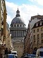 Rue des Ecoles - Echappee sur le Pantheon par rue des Carmes.jpg