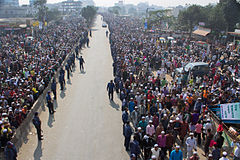 Run to land of sacrifice(World congregation of muslim nation) 2012.jpg