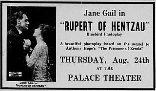 <i>Rupert of Hentzau</i> (1915 film) 1915 British film directed by George Loane Tucker