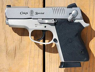 Semi-automatic pistol - Smith & Wesson double-action .45 ACP semi-automatic compact pistol