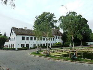 Søllerød - Søllerød Inn at the old village pond which forms the historic centre of the original village