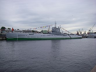 Whiskey-class submarine - Image: S 189 in Saint Petersburg