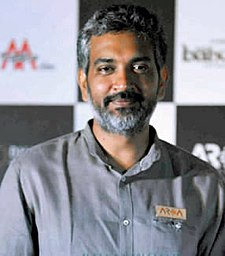 S. S. Rajamouli at the trailer launch of Baahubali.jpg