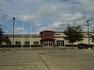 Bilingual education - SER-Niños Charter School, a bilingual state charter school in the Gulfton area of Houston, Texas