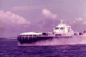Surface effect ship - Image: SES100B 394