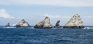 Shag Rocks, South Georgia - Image: SGI 2016 South Georgia–Shag Rocks 01