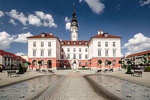 Grodków - Town Hall in Grodków