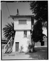 SOUTHWEST WALL - John Krohn Tank House, 13000 Foothill Avenue, San Martin, Santa Clara County, CA HABS CAL,43-SANMA,1-3.tif