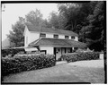 SOUTH (FRONT) ELEVATION - Montague Ferry Keeper's House, Old Bridge Road, Montague, Sussex County, NJ HABS NJ,19-MOGU.V,3-2.tif