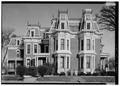 SOUTH ELEVATION - J. Monroe Parker House, Main and Twelfth Streets, Davenport, Scott County, IA HABS IOWA,82-DAVPO,5-4.tif