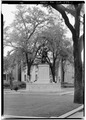 SOUTH FRONT AND EAST SIDE - Chippewa Square Monument, Savannah, Chatham County, GA HABS GA,26-SAV,4-1.tif