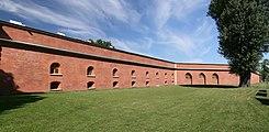 SPb - Peter's Сurtain and Menshikov Bastion of Peter&Paul Fortress.jpg