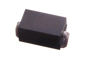 Schottky diode - Image: SS14 1A DO 214 Schottky diode