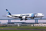 SU-GDR - EgyptAir - Boeing 777-36N(ER) - CAN (16663520555).jpg