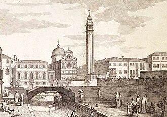 Flanginian School - Image: S Giorgio il sue Collegio de Study Venice
