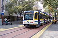 Sacramento CAF-built LRV 228 on K St at 7th Ave in 2006.jpg