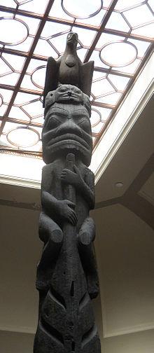 Nisga'a and Haida Crest Poles of the Royal Ontario Museum
