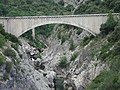Saint-Jean-de-Fos (Hérault, Fr) aqueduc sur l'Hérault.JPG