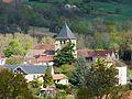 Saint-Médard-d'Excideuil village église.JPG
