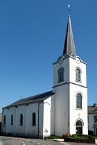 Church in Lavacherie, Sainte-Ode
